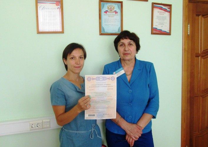 Молодым мамам из Зеленчукского района вручили сертификаты на материнский капитал