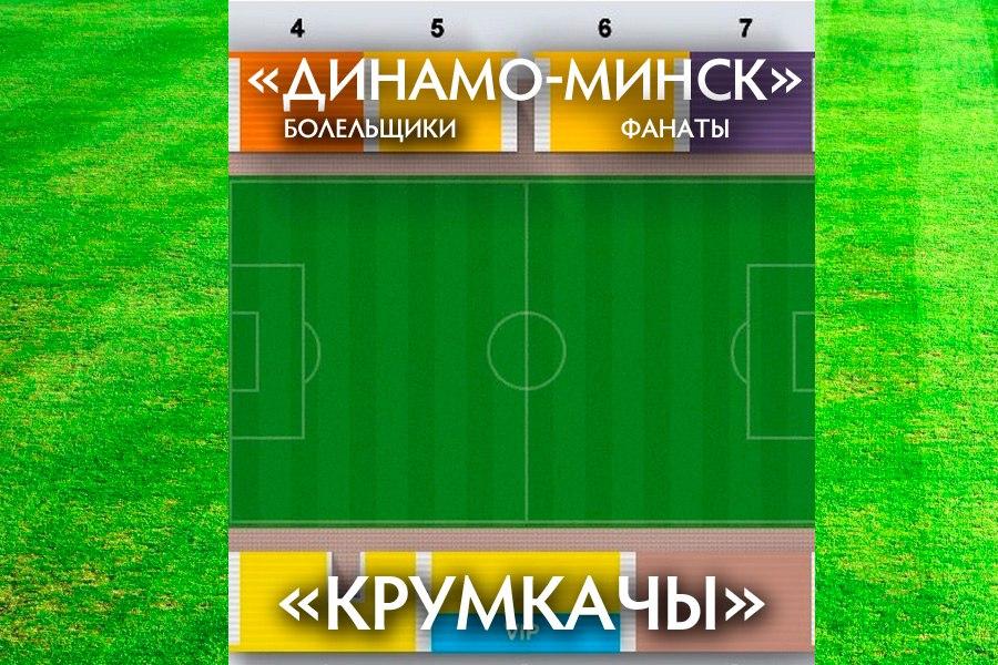 Крумкачы - Динамо-Минск