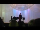 Отрывок из Мюссе С. Рахманинов,Исполняет Ольга Гучек, концертмейстер Юлия Щербакова