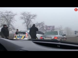 ДТП с девушкой-полицейским в Николаеве