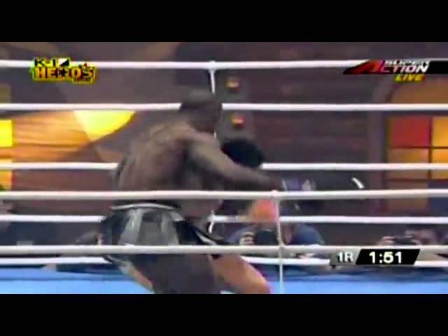 Melvin Manhoef - Mike's Gym KickBoxig (Muay Thai) - MMA