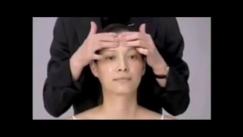 Омоложение на 10 лет за несколько минут Японский массаж лица
