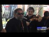 «Аквариум» собрал 10 тысяч рублей, сыграв в подземном переходе Омска