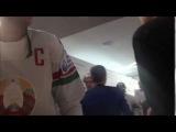 После поражения в матче с венграми у Андрея Стася сдали нервы