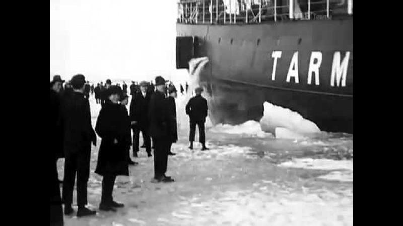 Старинное финское развлечение гулять перед ледоколом