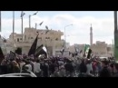 Jabhat al-Nusraмитингует в вместе с ССА Idlib, Syria.