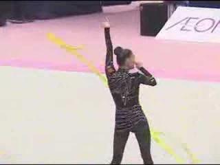 Алина Кабаева - лента // Aeon Cup 2004