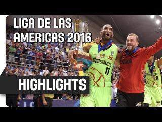 Bauru (BRA) v Guaros de Lara (VEN) - Game Highlights - Final - Liga de las Americas 2016
