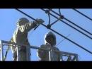 Работа под напряжением 765 кВ - Working under the 765 kV