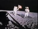 Флаг на Луне Аполлон 14