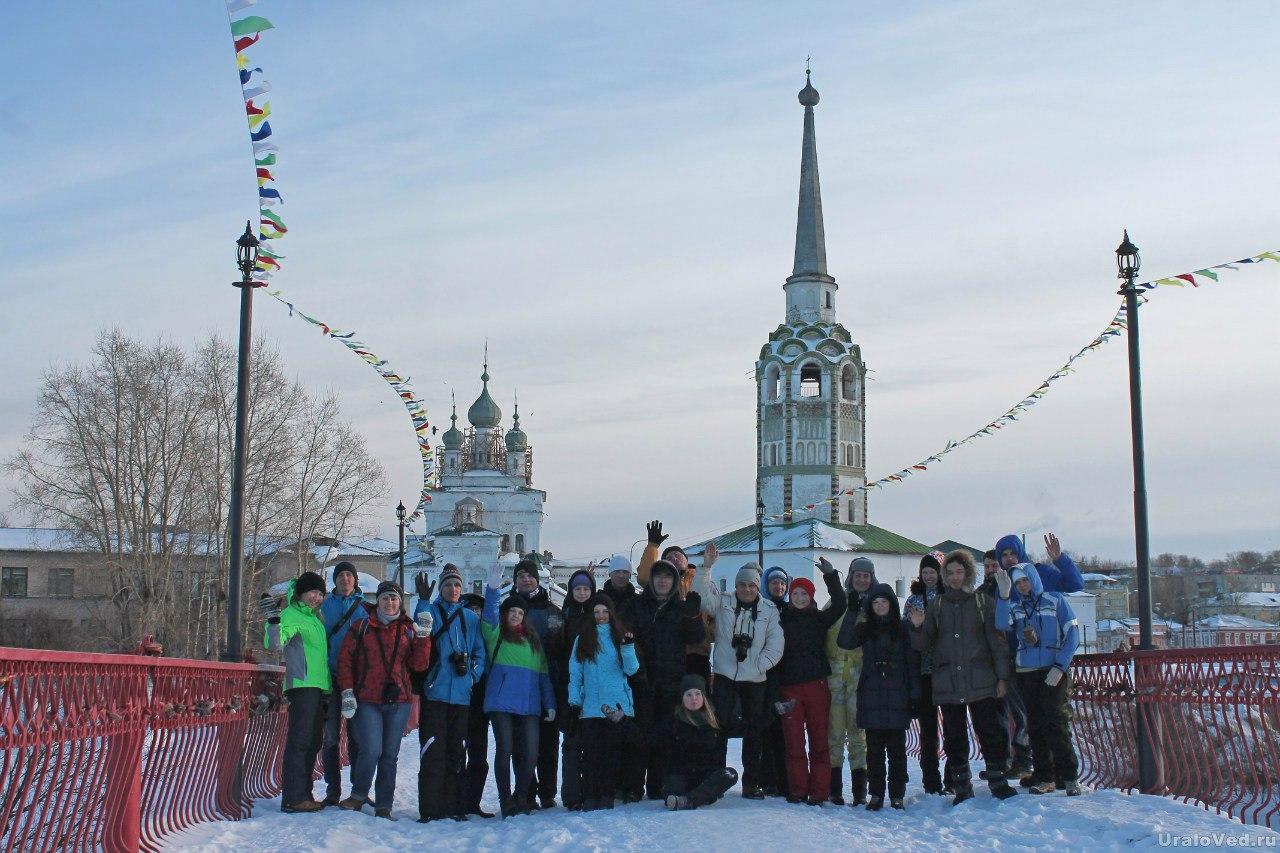Участники поездки в Соликамске