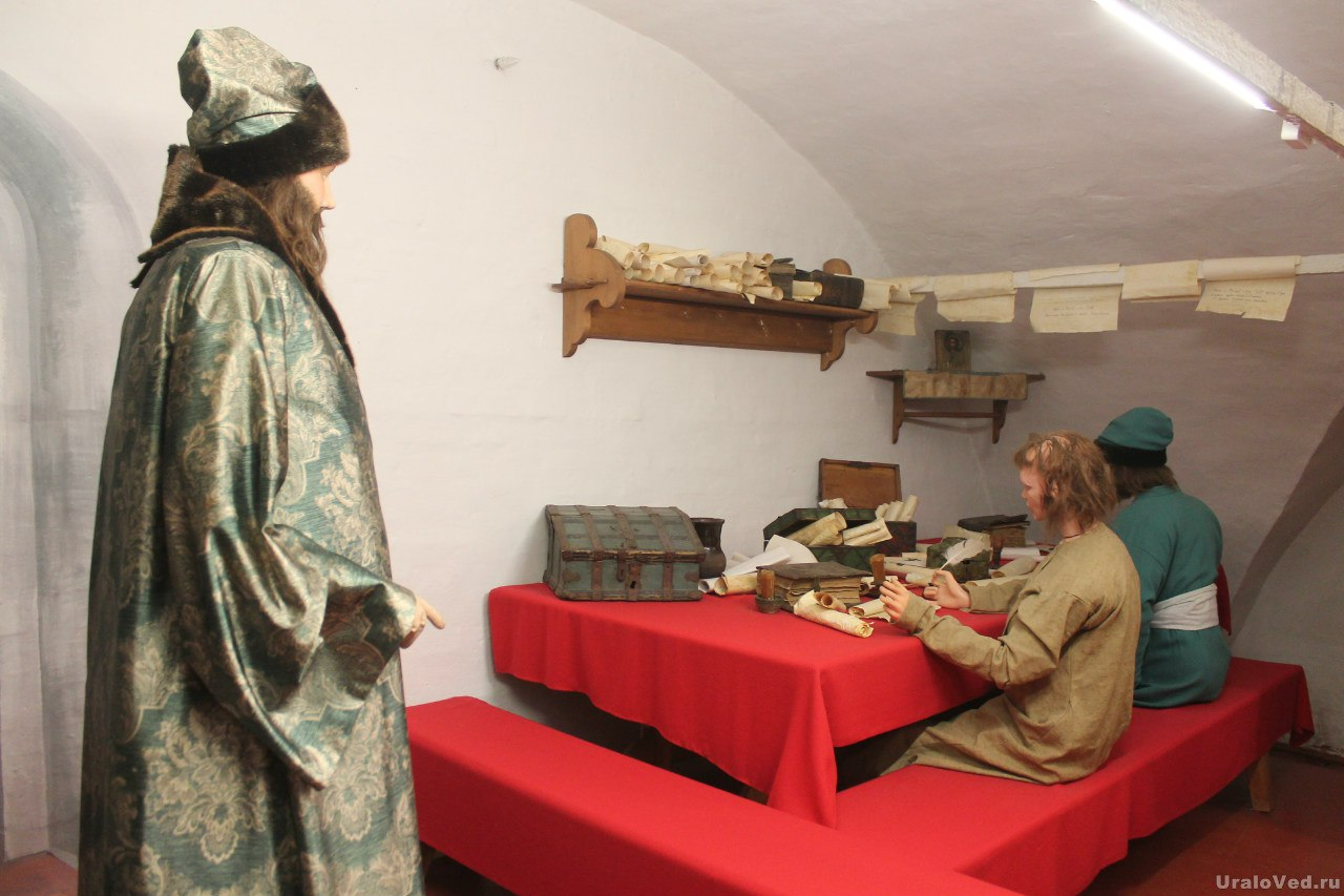 В музее Дома воеводы