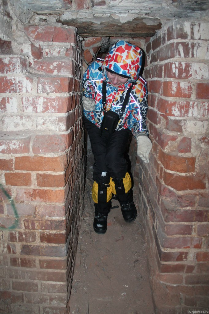 В подземельях Троицкой церкви