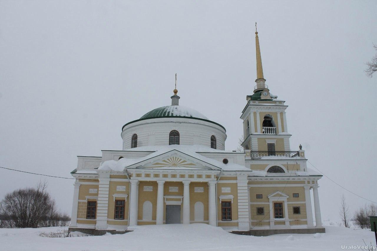 Никольская церковь в Усолье