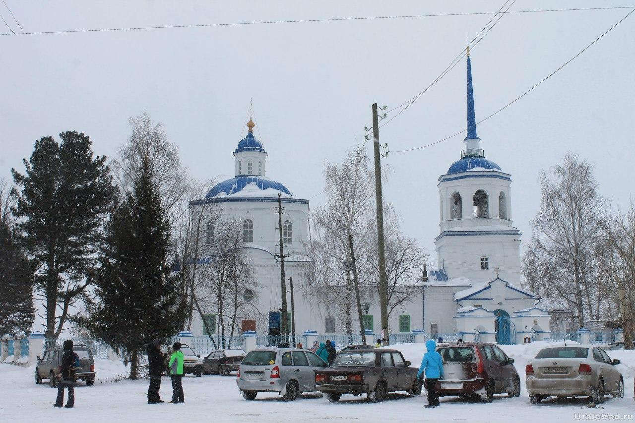 Церковь Похвала Богородице (1735 г.) в поселке Орел