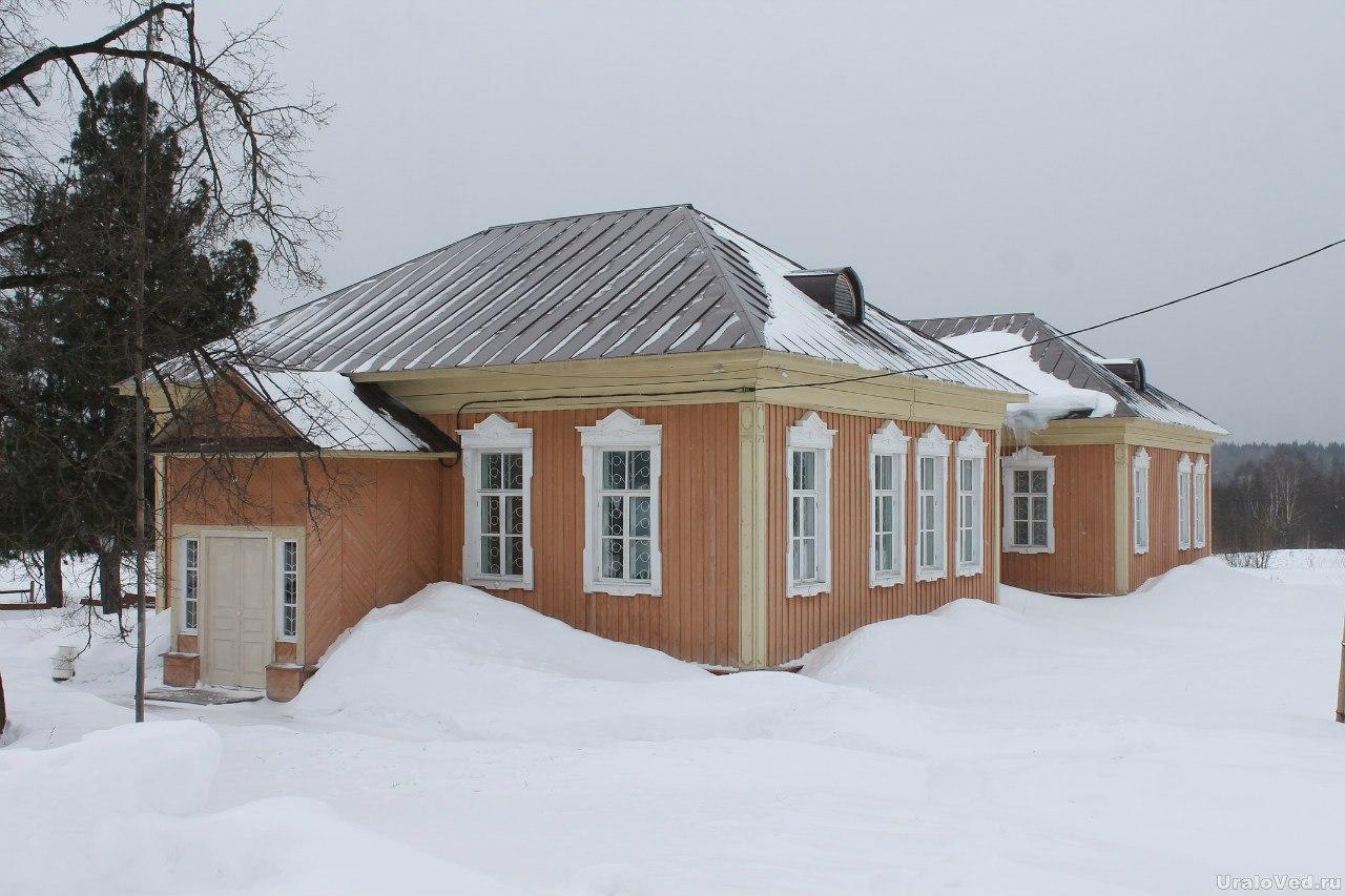 Дом Пастернака во Всеволодо-Вильве
