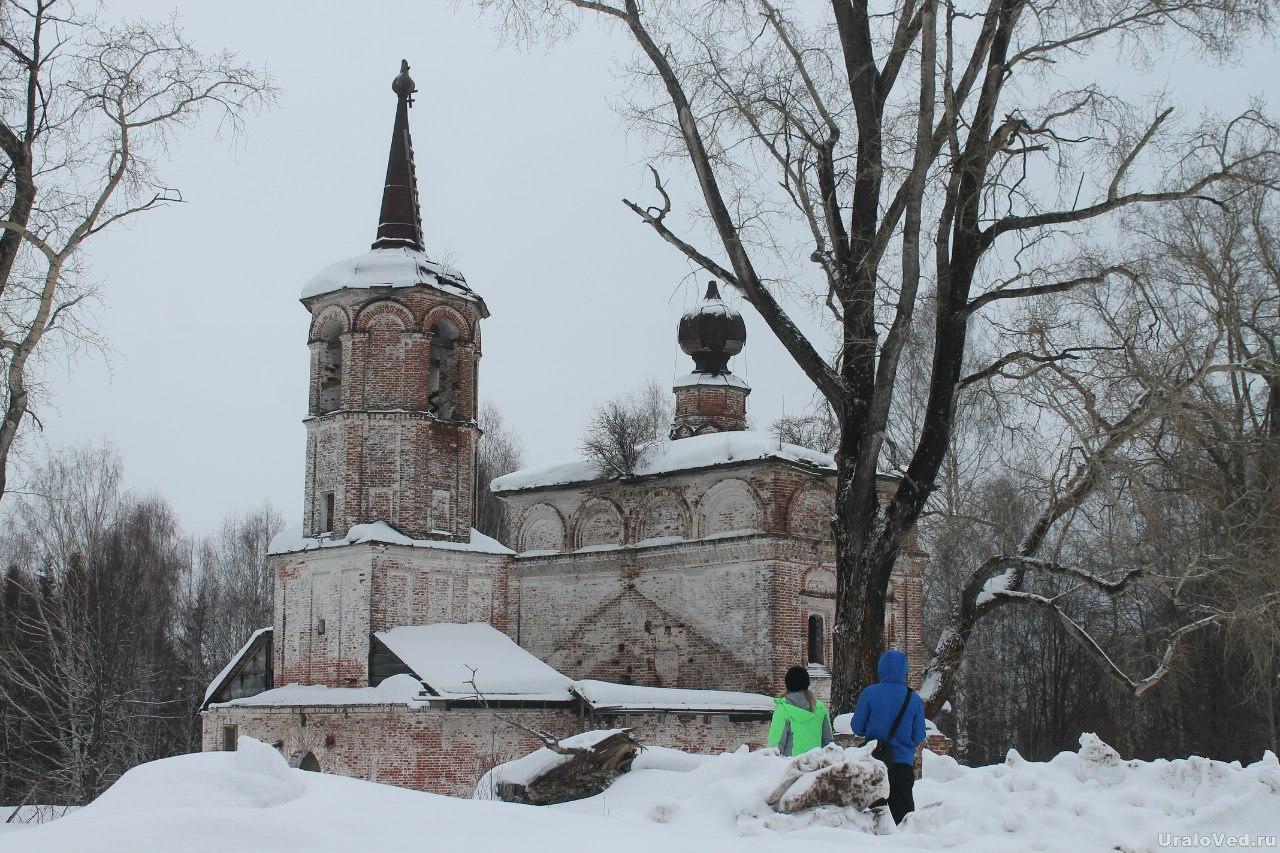 Свято-Николаевская церковь в Пыскоре