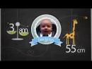 Детское слайд-шоу для малыша с рождения, может быть и в девчачем исполнении. 40 фотографий.