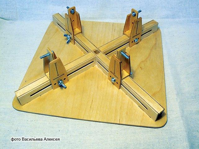 Стапель для сборки моделей самолетов LOn4x-XCn5k
