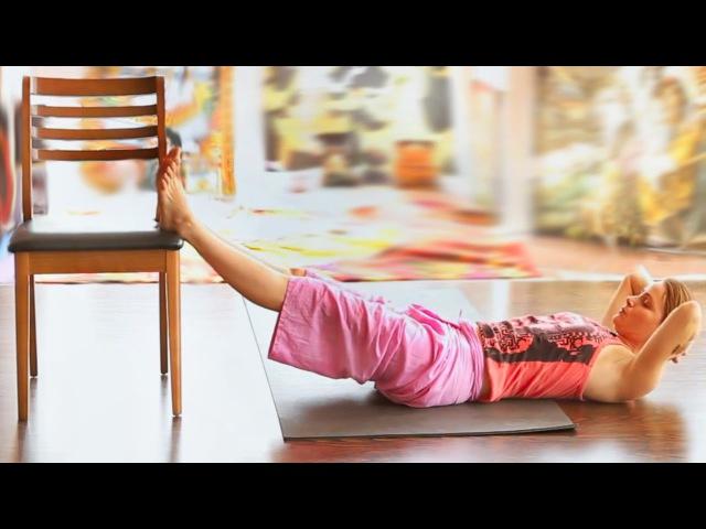 Лечебная йога для усталых ног. Упражнения для расслабления ног. Йогатерапия