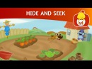 Hide and Seek in he vegetable garden Cartoon for Children Luli TV
