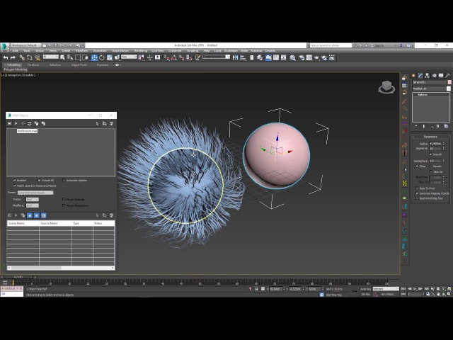 Ornatrix for 3dsmax: Xref hair assets