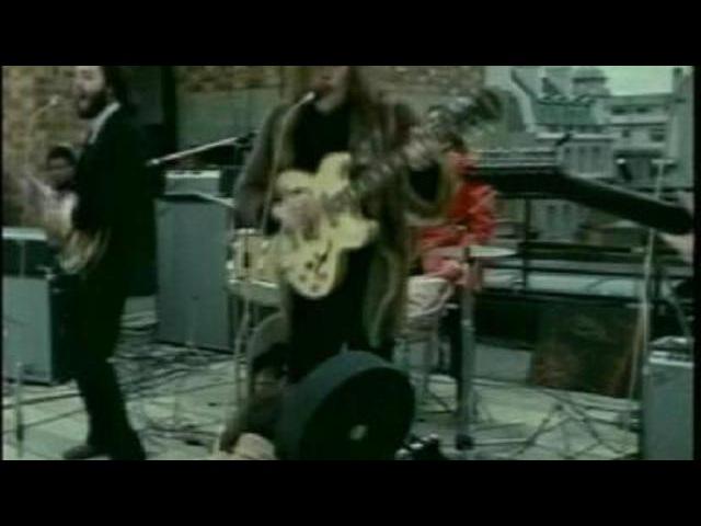 Битлз-Концерт на крыше /The Beatles - Don t Let Me Down