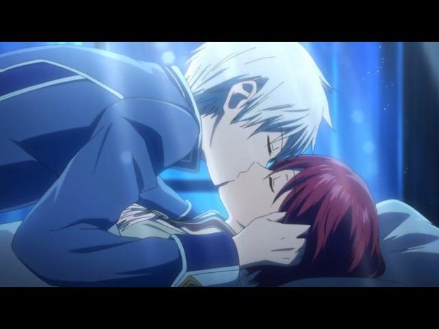 Романтический аниме клип : Зен и Шираюки - Коснись моего сердца