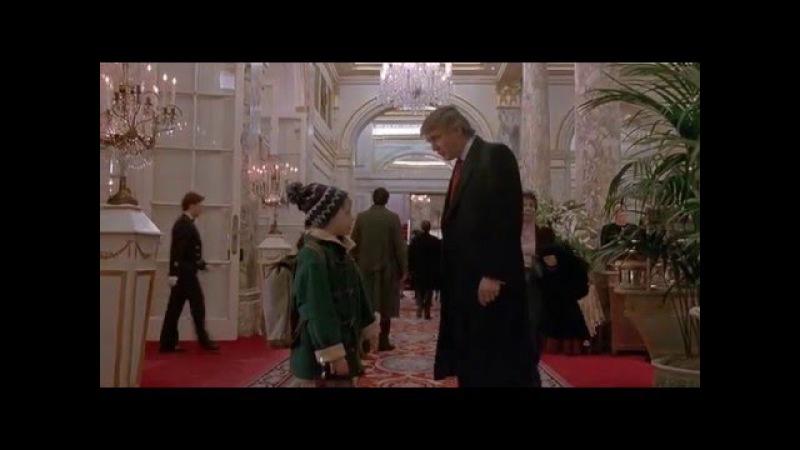 Дональд Трамп в фильме Один дома-2
