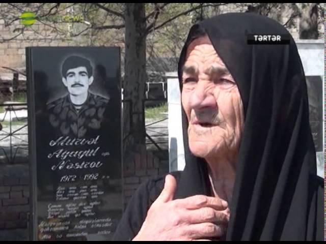 Tərtərdə şəhid anası