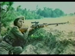 Снайперы (СССР, 1985) Про девушек-снайперов Великой Отечественной