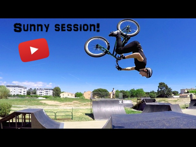 Sunny session - Street Trial 2016 - John Langlois and Théo Collon