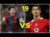 19-Year-Old Messi vs 19-Year-Old Cristiano Ronaldo