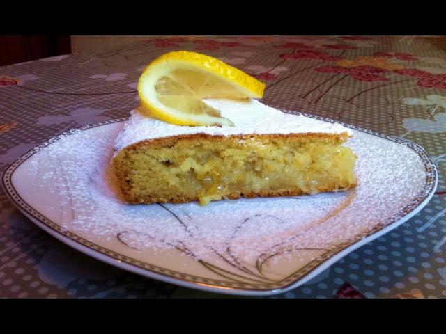 Лимонный Пирог Лимонник Lemon Pie Пирог с Лимоном Очень Простой Рецепт (Вкусно и Быстро)