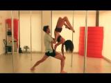 Pole dance Alex Shchukin & Marion Crampe