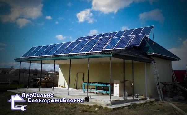 мережева сонячна електростанція на 10 кВт
