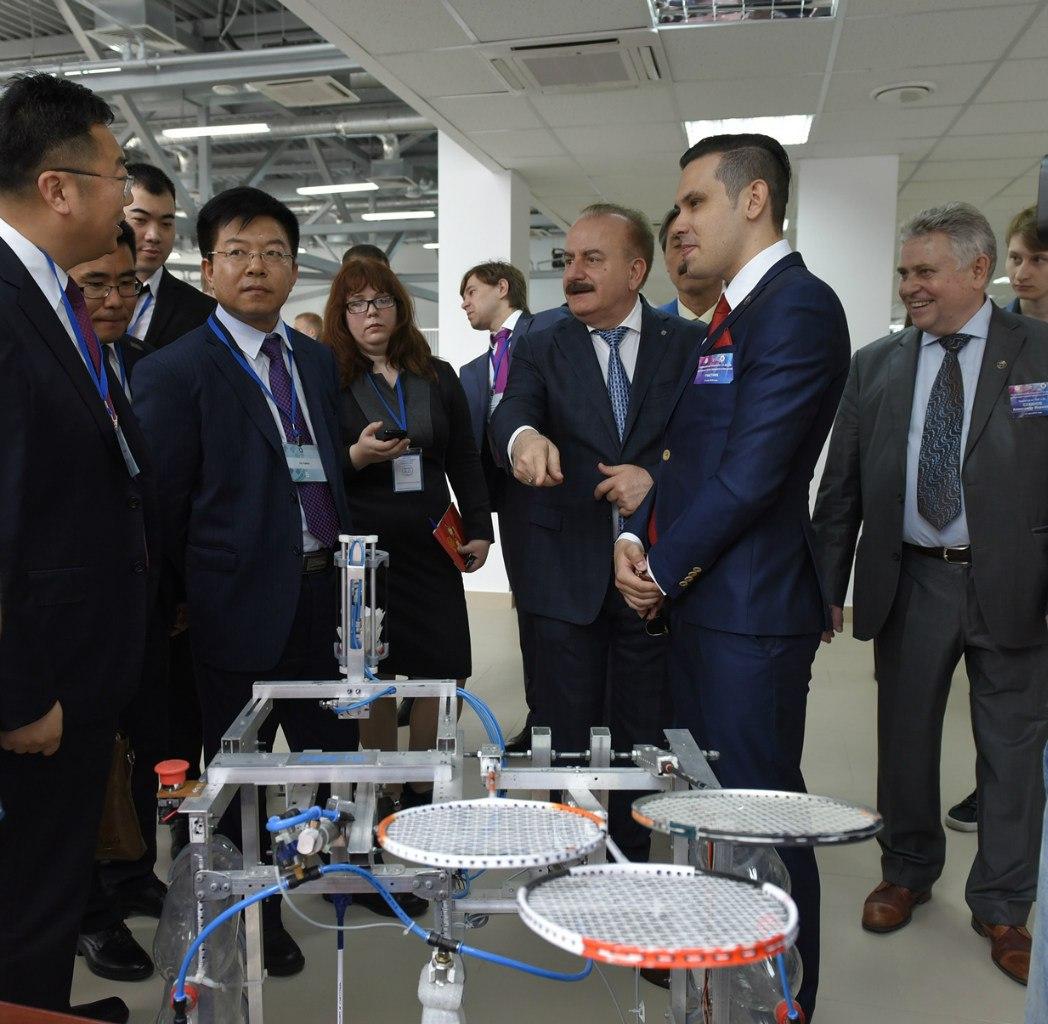 В ДГТУ открылся первый в России Центр трансфера технологий
