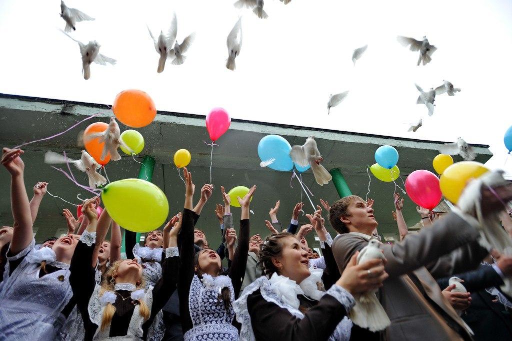 Сегодня в Таганроге последний звонок звенит для 1273 школьников