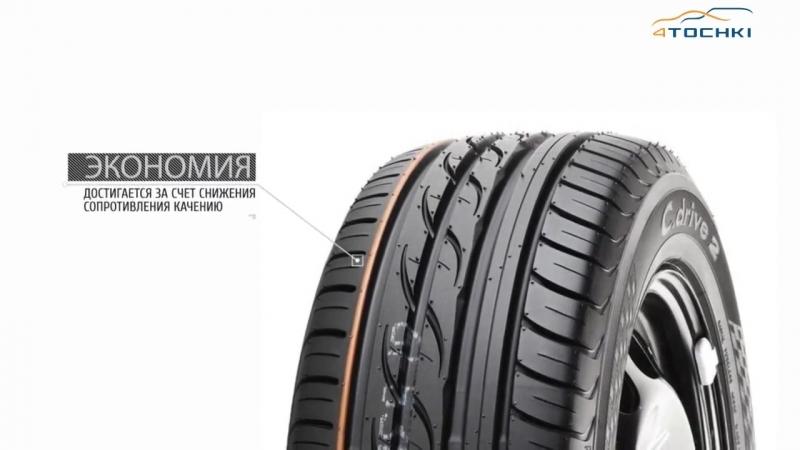 3D-обзор шины Yokohama C.drive 2 AC02 - 4 точки. Шины и диски 4точки - Wheels  Tyres 4tochki
