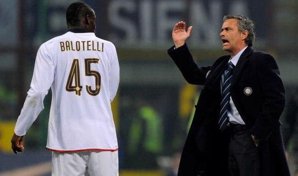 Марио Балотелли: Моуринью - выдающийся тренер, не важно, что о нем говорят