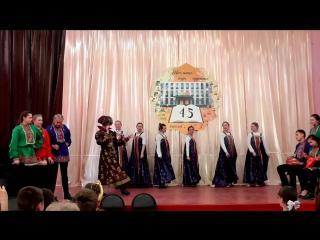 фестиваль советского кино в 3 школе Конаково (одно из выступлений)