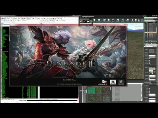 LU4. Lineage 2 Interlude on Unreal Engine 4. FIRST CONNECT.