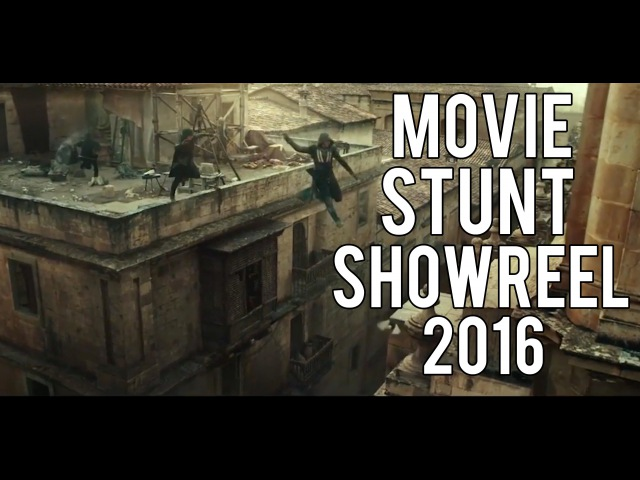 Movie Stunt Showreel 2016 | Damien Walters