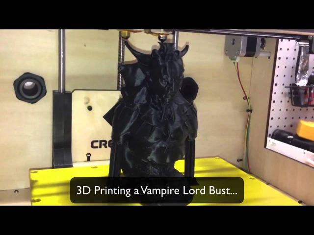 FlashForge Creator 3D Printer Demo