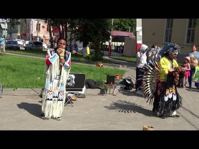 ИндейцыEcuador Spirit в г.Муроме.19.06.2016г.Cuando florezca el chuño