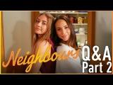 Mavournee Hazel (Piper) & Ariel Kaplan (Imogen) Q&A Part 2 - Neighbours