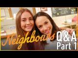 Mavournee Hazel (Piper) & Ariel Kaplan (Imogen) Q&A Part 1 - Neighbours