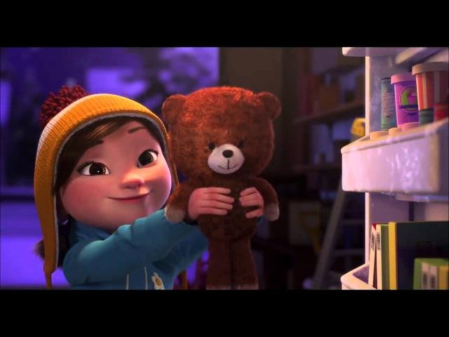 Лили и Снеговик. Зимний мультик о том, что настоящая дружба не заканчивается