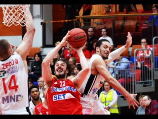 Bisons vs Nymburk Highlights March 25, 2016