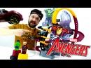 Видео для детей: Гараж Алекса! Халк vs Железный человек. Гонки.